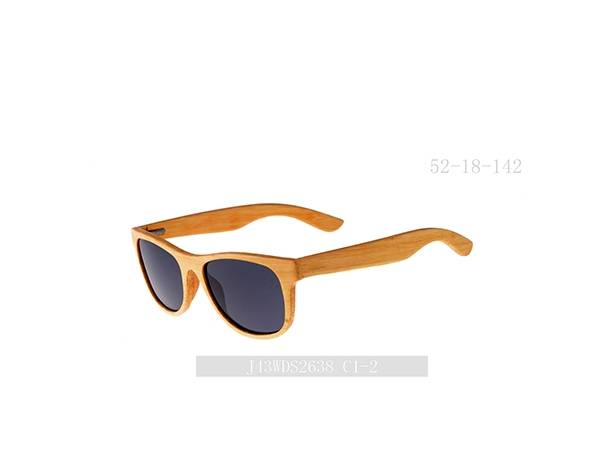 2021 Joysee J43WDS2638 sunglasses wooden material new model