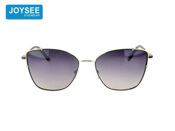 Joysee 2021 retro style fashion metal glasses high quality design exquisite Ladies Sunglasses
