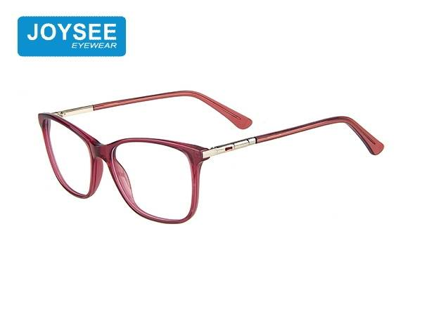 Joysee 2021 J51EP19021 the latest hand-made fashion frame with metal leg glasses for women