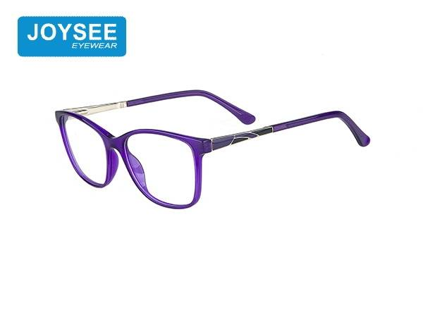 J51EP19024 The latest hand-made fashion large-frame rectangular frame in 2020 with exquisite metal patterns