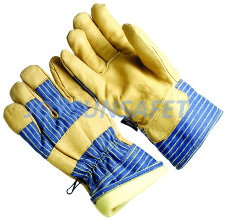 OEM Supply Master Gardener Gloves - CATH328 leather palm winter gloves thinsulate lining – Joysun