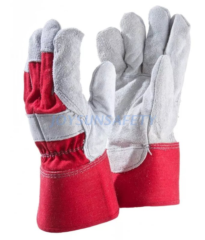 New Fashion Design for Firm Grip Gloves - CB303 leather palm work gloves – Joysun