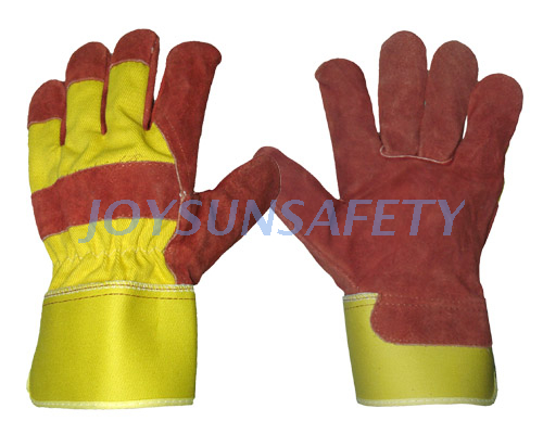 Factory Cheap Hot Grinding Gloves - CB332 red leather palm gloves  – Joysun
