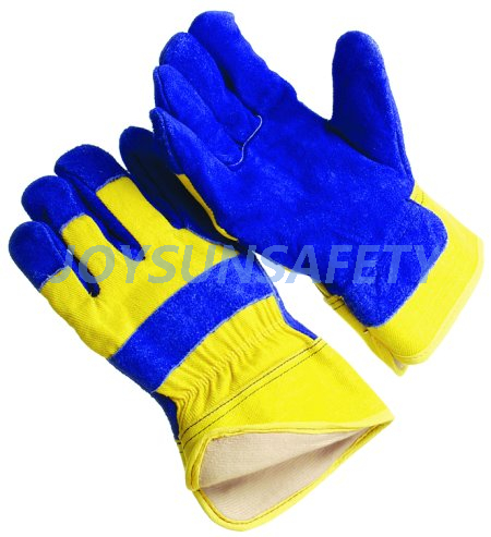 CBFL342 leather palm winter gloves