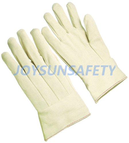 Factory Outlets Leather Welding - CT102 cotton canvas gloves gauntlet cuff – Joysun