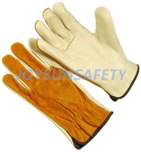 DCACBW rigger leather gloves