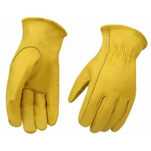 Bottom price Painter Gloves - Heavy Duty Industrial Safety Gloves cowhide Leather Gloves – Joysun