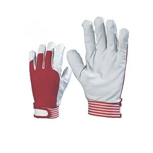 Pig Grain Leather Work and Driver Gloves