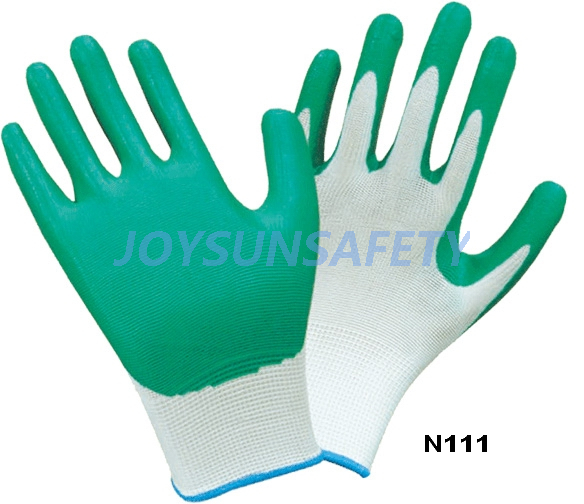 N111 Nitrile coated gloves smooth finished Featured Image