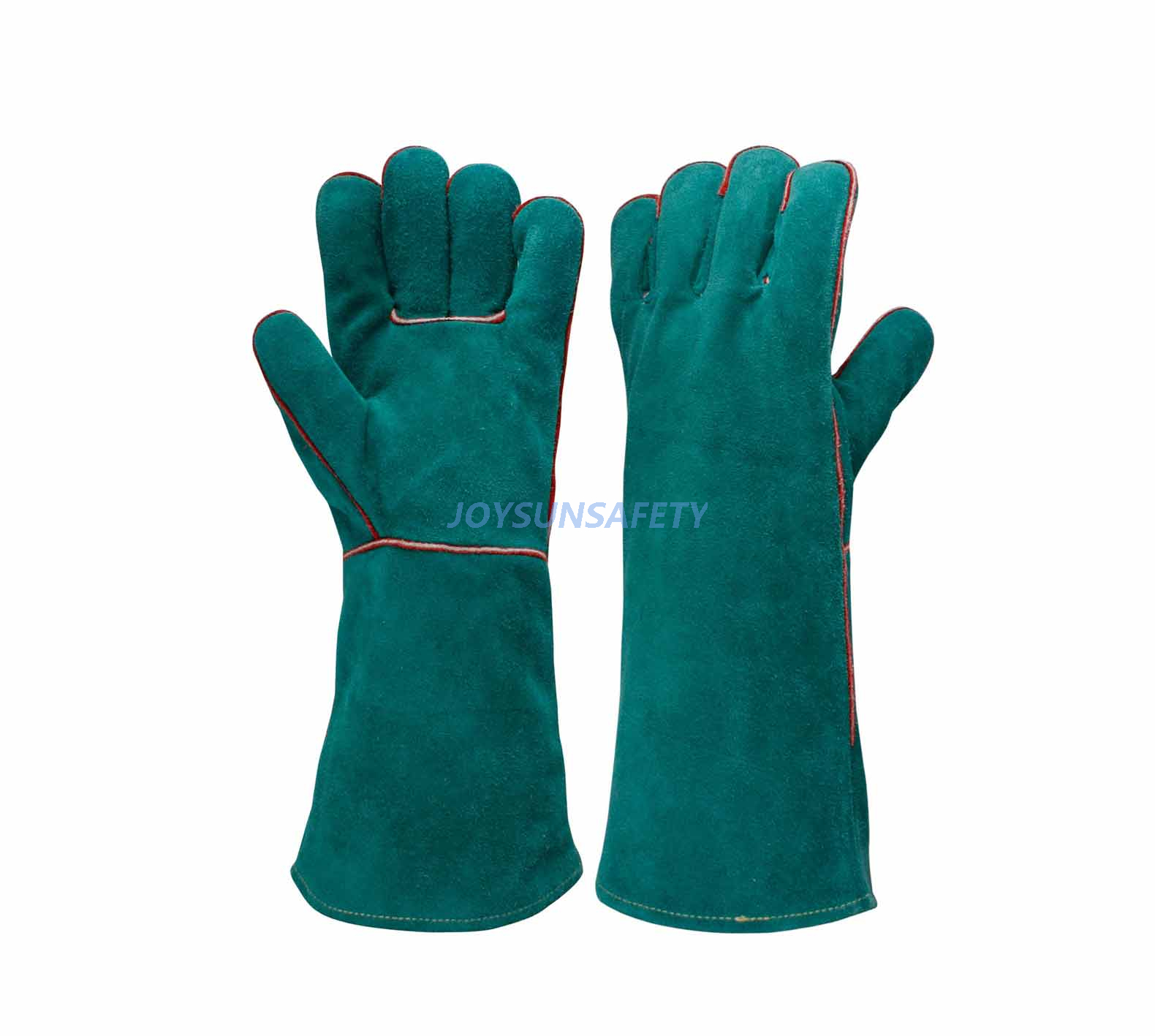 Ordinary Discount Sweat Resistant Gloves - WCBG01 green welding leather gloves  – Joysun