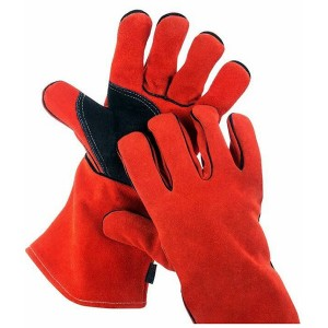 Labor Protection Long Leather Gloves Welding Safety Gloves