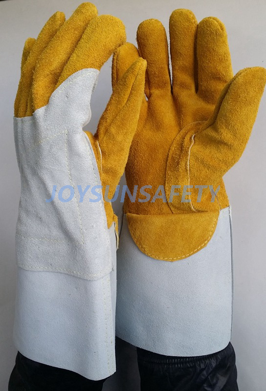 8 Year Exporter Thin Welding Gloves - WCBY08 Mig welding leather gloves  – Joysun