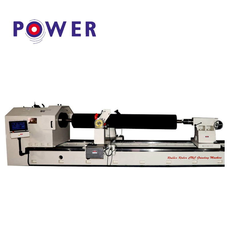 Factory Cheap Hot Rubber Roller Strip Twisting Machine - Rubber Roller CNC Grinding Machine – Power
