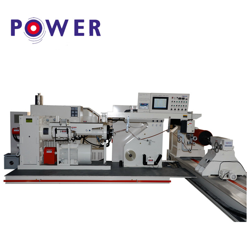 High definition Rubber Roller Core Sanding Machine - Rubber Roller Covering Machine – Power