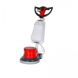 Multi-functional floor polishing machine with b...