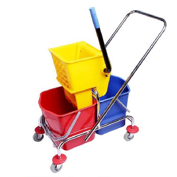 34L/46L Side press double wringer trolley –H0201 0202 Featured Image