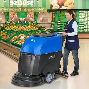China wholesale Domestic Floor Cleaning Machine - Auto Scrubber Drier-SC50 – Jinqiu