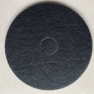 Black Color Floor pad