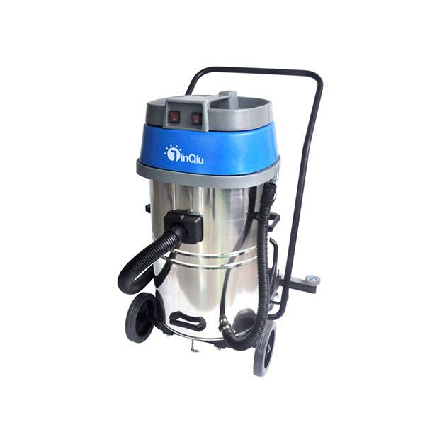 Bottom price Portable Floor Cleaning Machine - 70L/80L Wet and Dry Vacuum Cleaner with squeegee H6006  H6007 – Jinqiu