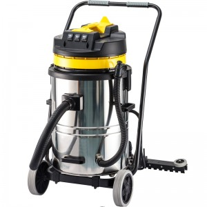 Super Lowest Price Vacuum Cleaner Online - 60L Wet and Dry Vacuum Cleaner with Squeegee HL60-2W – Jinqiu