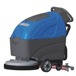 Massive Selection for Carpet Cleaner Liquid For Machines - Walk-Behind Scrubber Drier with Battery -H8101/H8102 – Jinqiu