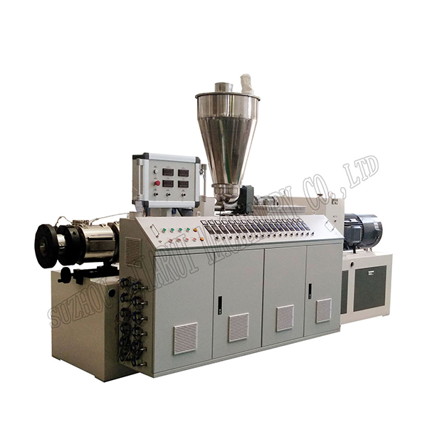 18 Years Factory Plastic Pellet Extruder - Conical double-screw extruder – Jiarui