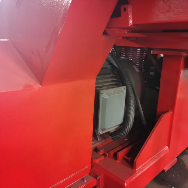 Factory Free sample Shaft Shredder - Heavy duty swing arm shredder – Jiarui detail pictures