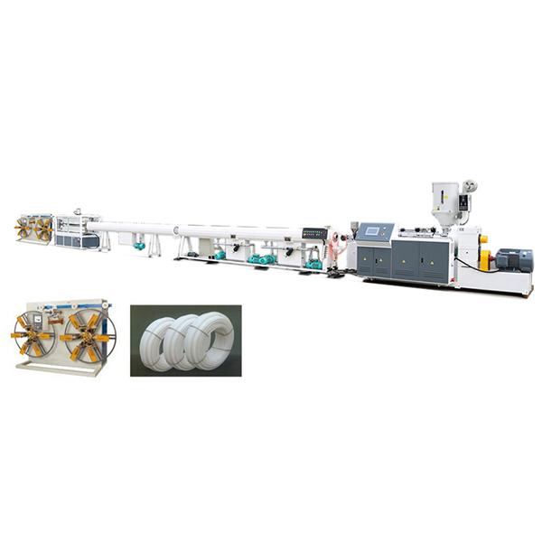 Wholesale Price Pvc Shower Pipe Extruder Machine - PE PPR pipe production line – Jiarui