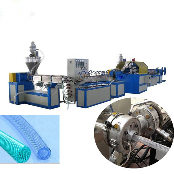Hot-selling Pvc Pipe Making Machine - PVC Braided Hose Extrusion Line – Jiarui