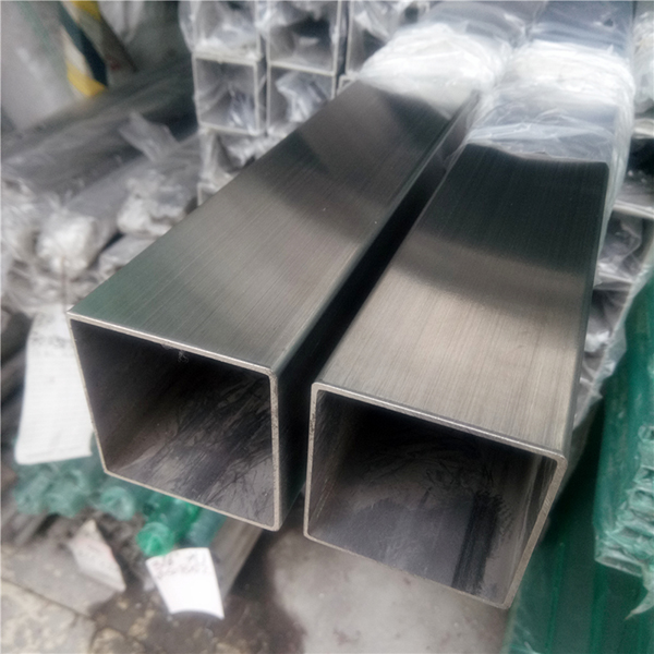 wholesale Stainless Steel Punch Plate Suppliers - Square Stainless steel welded pipe – Join detail pictures
