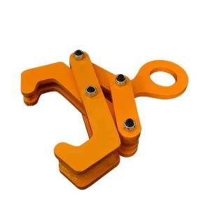 Steel lifting rail clamp