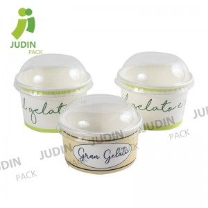 PriceList for Frozen Yogurt Paper Cups - Ice Cream Paper Cup – Judin Packing