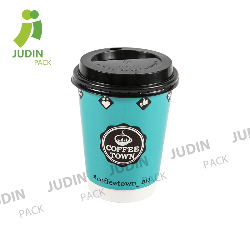 China Wholesale Double Wall Espresso Paper Cup Factories - Doulble Wall Cup – Judin Packing Featured Image
