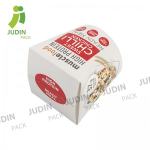Best Price for Salad Bowl Container - Round Base Noodle Box – Judin Packing