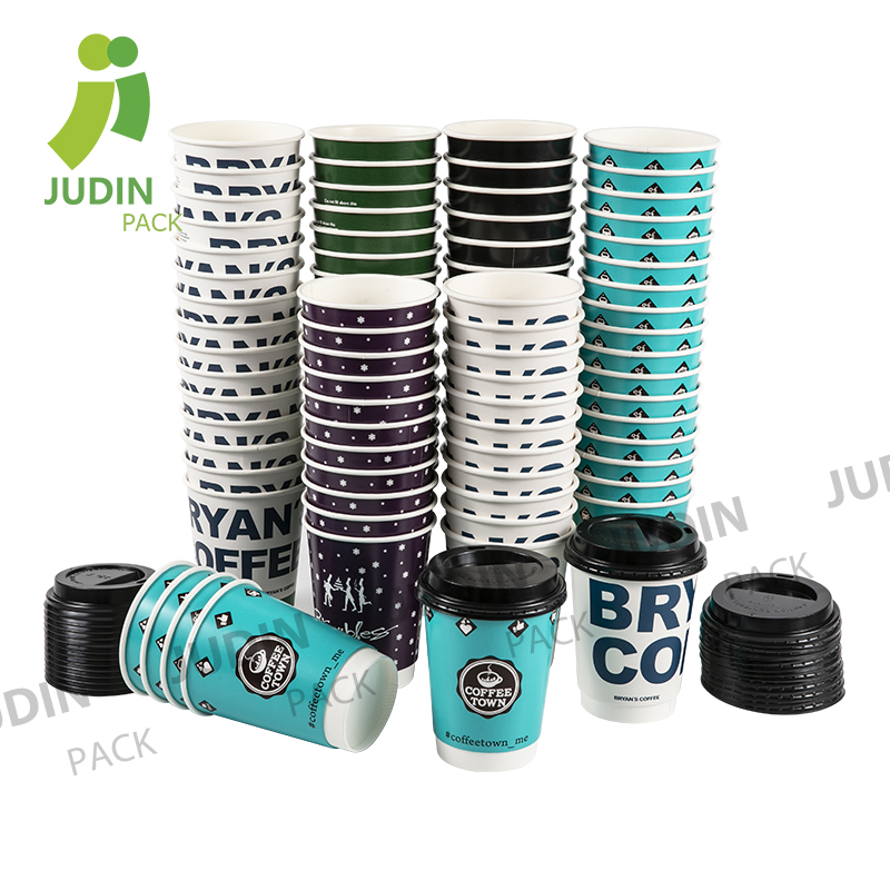 China Wholesale Double Wall Espresso Paper Cup Factories - Doulble Wall Cup – Judin Packing