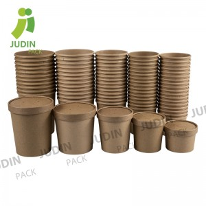 OEM manufacturer Soup Cup With Saucer - Soup Cup – Judin Packing