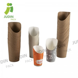 New Arrival China French Fry Scoop Paper Cup - Chip Cup – Judin Packing