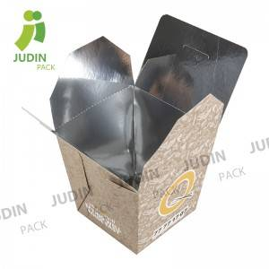 Food Grade Chinese Noodle Box with Customized Logo