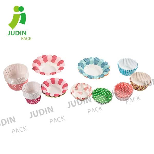Paper baking cups muffin cups for dessert! All kinds of size and printing!