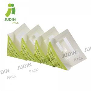 Heat sealed Disposable Triangle Paper Sandwich ...