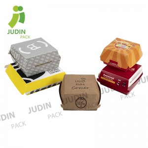 High Quality for Fries Box – Hamburger Box – Judin Packing