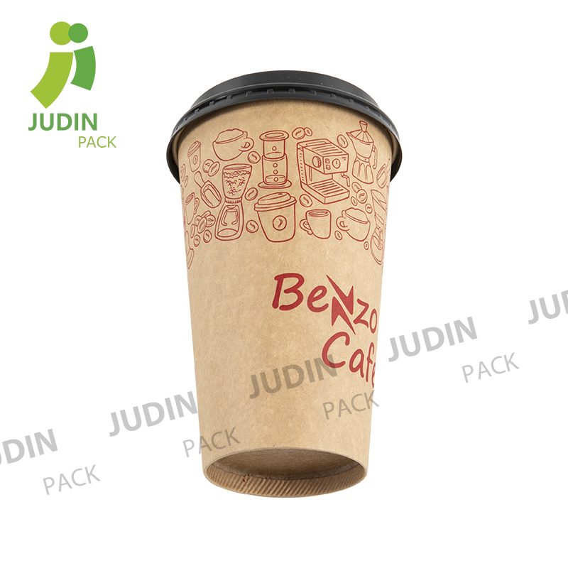 Hot-selling Doulble PE Coating Cold Drink Paper Cup - Hot Single Wall Cup – Judin Packing
