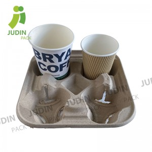 Reasonable price Disposable Coffee Cup Sleeves - Cup Holder – Judin Packing