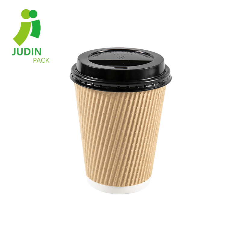 China Wholesale Soda Paper Cup Suppliers - Ripple Wall Cup – Judin Packing Featured Image