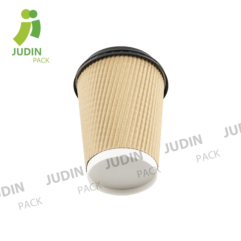 Professional China Double Wall Bamboo Paper Cup - Ripple Wall Cup – Judin Packing