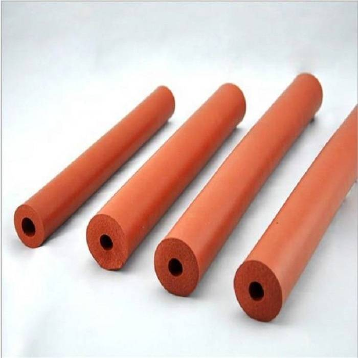 Factory Directly Supply Large Diameter Soft Silicone Sponge Foam Rubber Tubing