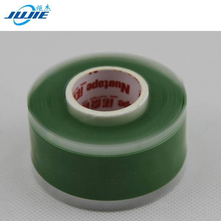 high voltage heat resistant elastic self-adhesive silicone rubber tape
