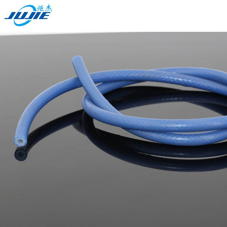 extruded silicone rubber and fiberglass braid material silicone fiberglass tube
