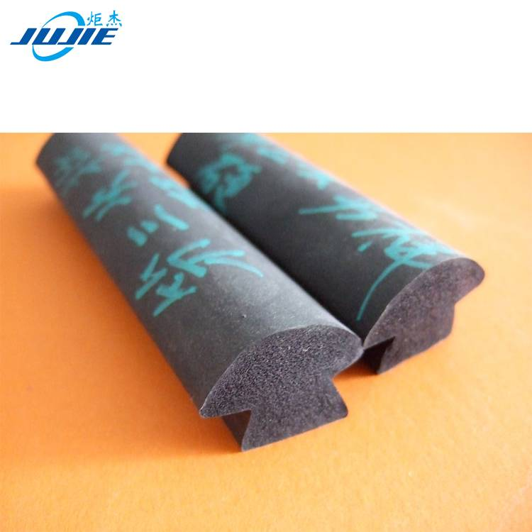 different shape silicone sponge foamed rubber strip seals