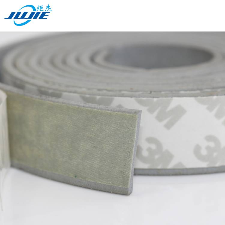 foamed adhesive rubber seal strip with 3m tape